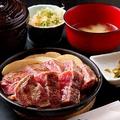 料理メニュー写真【限定10食】牛ロースステーキ鉄板焼