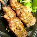 料理メニュー写真熟成豚ロース(わさびソース)