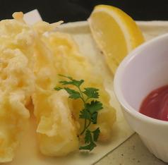 のびーるスティックチーズ天ぷら