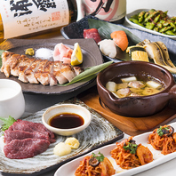 お酒としゃぶしゃぶや天ぷらのマリアージュが楽しめます