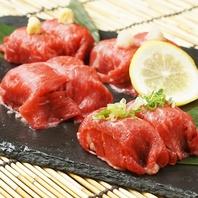 【神戸駅スグの和食居酒屋】肉寿司・海鮮・串焼きが自慢