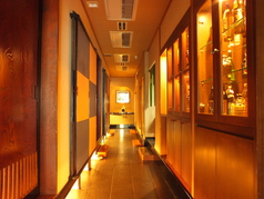個室は種類豊富にご用意しております。収容人数など詳細はお問い合わせください。