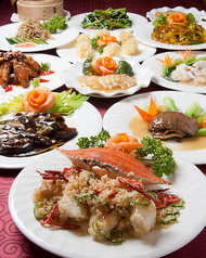 中国料理 満漢楼のコース写真