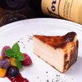 料理メニュー写真ロマネコのチーズケーキ 1カット 1/8サイズ