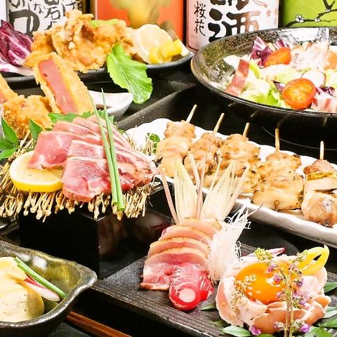 鬼丸!名物鍋フルコース 全8品4000円(税込)