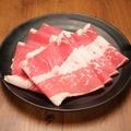 料理メニュー写真並コース【しゃぶしゃぶ食べ放題90分】牛肩バラ・豚ロース・豚バラ・鶏ももスライス