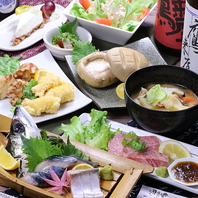 豊富な大分郷土料理多数!郷土料理満喫コース5000円