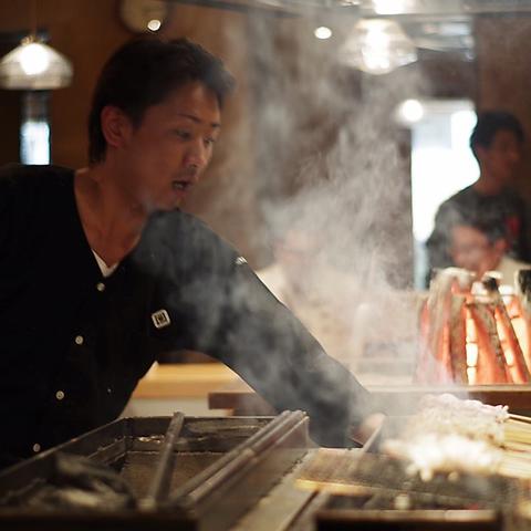 【2時間飲み放題付】焼き鳥・玄海鮮魚堪能コース[全8品]4,000円(税込)