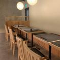 2~12名様用のお席☆大人の雰囲気がコンセプトの個室はお勤め先でのご宴会や気の合う仲間との飲み会などにもおすすめ。雰囲気抜群の店内でデートや女子会など、各種ご宴会をお楽しみください。