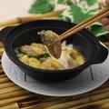 料理メニュー写真カキとネギ生姜の醤油煮