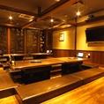 8名様テーブル【石川町 居酒屋 個室】【会社の飲み会もプライベートなお食事にも最適な店内です。個室 居酒屋 食べ放題 飲み放題 宴会 個室 接待 和食 大人数 おすすめ 人気 貸切】