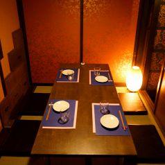 風情ある畳の和個室