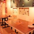 【2F】32席 広々と使えるテーブル席