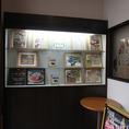 ◆店内入口にはメニューや使用食材などを紹介しています◆