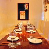 テーブル席は最大16名様まで◎大人数でのPARTYに最適♪12名様以上で貸切もできちゃいます。