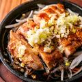 料理メニュー写真地鶏の炙り焼き