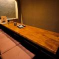 テーブル個室をご用意しております。接待利用や記念日利用におすすめです。お洒落な空間で当店自慢の肉料理を是非ご堪能ください。