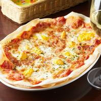 生地やソースは手作り♪自家製ピザ