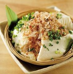 料理メニュー写真濃厚寄せ豆腐