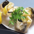 料理メニュー写真ホタテとチーズの湯葉ロール