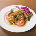 料理メニュー写真蒸し海老のタイソース