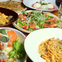 ミジンコ食堂のコース写真