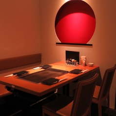 1F テーブル席