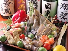 魚串 焼鳥 野菜串 鳥魚