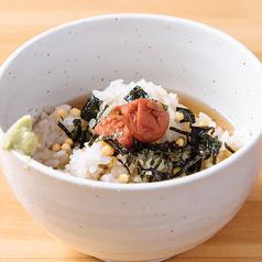 お茶漬け 各種(さけ・たこわさ・うめ)・〆の豚汁