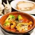 料理メニュー写真イタリア風 牛もつのトマト煮込み