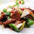 料理メニュー写真牛肉のオイスターソース煮込み/牛肉と豆腐の煮込み