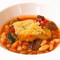 料理メニュー写真白身魚のガルピュール(いんげん)風スープ仕立て
