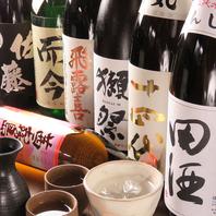 日本酒・焼酎各種取り揃えております♪
