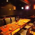 2階:歓送迎会など職場の集まりなどにも、4名様から飲み放題付きパーティプランをご用意しております。
