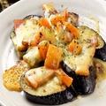 料理メニュー写真ナスとトマトのチーズ焼き