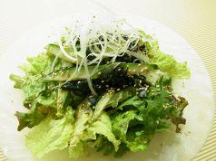 料理メニュー写真韓国風ワカメサラダ