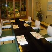 お部屋から情緒ある風景も※写真は特別席のご案内です
