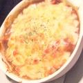 料理メニュー写真ボリューム満点カレー風味のドリア