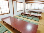 2Fのお座敷は最大25名様まで使える広々としたお部屋になっています。