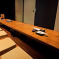 会社での宴会や気の知れた仲間との飲み会に。幅広いシーンでご利用いただけるお座敷個室になっております。