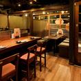 趣ある「和」空間は、少人数での飲み会やご家族とのお食事にも最適。刈谷での夜ごはんは刈谷駅から「徒歩1分」の個室 くずし肉割烹 轟~TODOROKI~へ。