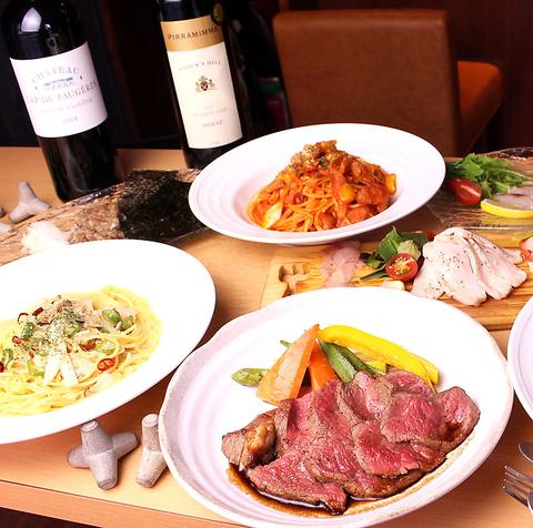 【お料理のみのご予約はコチラ!】全4品★肉or魚が選べる!3000円コース