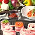 料理メニュー写真国産豚サムギョプサル(1人前)