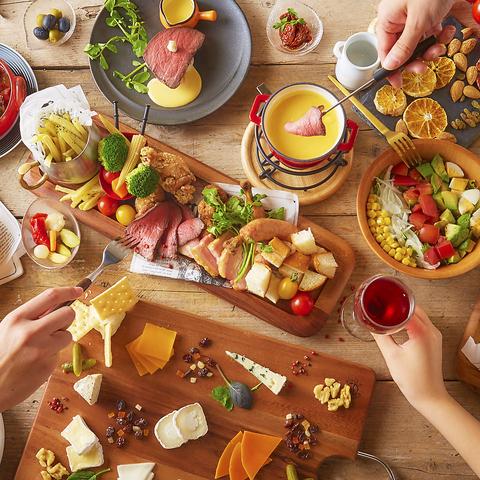 チーズ料理を気軽に楽しめるイタリアンがNEW OPEN★美味しく食べて心も体も笑顔に♪