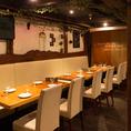 【2階】テーブル席4名×8席