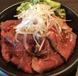 特製ローストビーフ丼