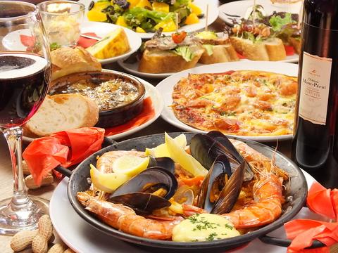 女子会&ママ会にオススメ!オシャレな店内で本格スペイン料理が楽しめます♪