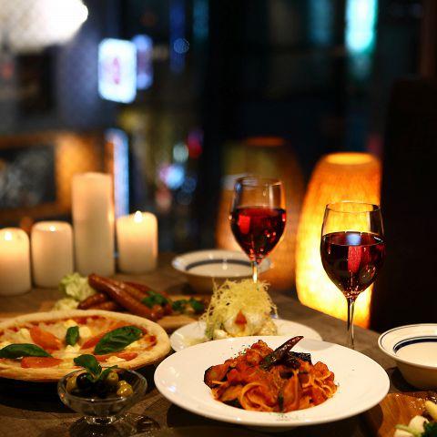 夜景個室&チーズとお肉 gift ~ギフト~ 千葉駅前店|店舗イメージ8