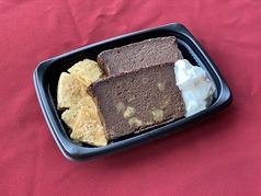 フランス産ベイクドチョコチーズケーキ