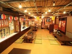 大宴会用のお座敷個室。30名以上の大型宴会に。最大宴会は40名まで対応可能